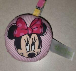 "Disney Baby MINNIE MOUSE PeekABoo Activity JumperReplacement 4"" Plush Hanger"
