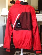 New Mens Helly Hansen Hydropower Pro Sailing Dinghy Smock Top Small Red NWT