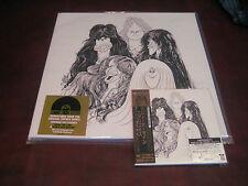 AEROSMITH DRAW THE LINE JAPAN REPLICA OBI RARE 2004 CD W/ VERIFY STICKER+180G LP