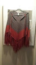 Beautiful h&m spring poncho one size with hood