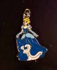 "Disney Princess Cinderella - Enamel Set - 24"" Silver Snake Chain - Lobster Clasp"