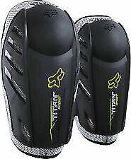 NEW! Fox Black Titan Sport Elbow Guards 04265-001-S/M Size MENS Small/Medium