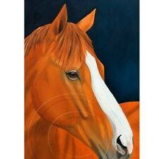Justify Horse Portrait Signed Numbered Print Collectible Art Equine SFASTUDIO