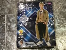 DOCTOR DR WHO COSPLAY FANCY DRESS - 10TH DR JACKET, SHIRT, TIE - BBC PRODUCT
