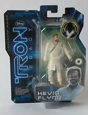 Tron Legacy Kevin Flynn 4 Inch Light Up Action Figure New Sealed Disney