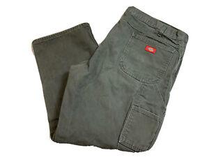 Dickies Green Work Pants Jeans Men Size 44x30