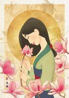 TENYO Flower scent Mulan 108pcs 18.2x25.7cm Jigsaw Puzzles Brand New Japan