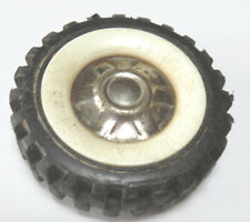 "Original white wall  tire for  Structo toy truck  2"" diameter"
