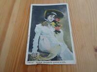 MISS DORIS STOCKER Vintage Postcard Franked & Stamped 1912.   §F723