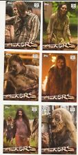 Topps The Walking Dead Season 7 Walkers Insert 10 Card Set W-1 W-2 W-3 W-4 W-5