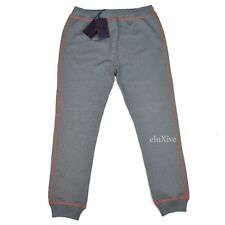 NWT $780 PRADA Men's TV Static Multicolor Knit Jogger Pants Sweatpants AUTHENTIC