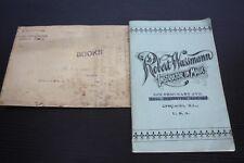 Antique Rare Magician Robert Wassmann Magic Book Chicago Catalog Teach 1907