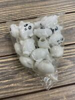 Vintage Halloween String Ghost Lights White Christmas Scary Spooky