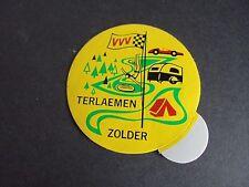Sticker autocollant : VVV camping Terlaemen - Zolder