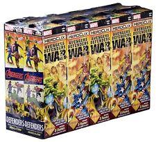 Heroclix: Avengers/Defender Booster Brick w/FREE Dice & Token Set! SHIPS 5/10!!!