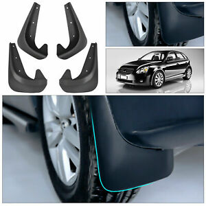 4X Universal Black Car Mud Flaps Splash Guards For Car Auto Accessories Part New
