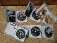 PS3 CALL OF DUTY 6 GAMES BUNDLE GHOSTS  MW2 MW3 COD 4 BLACK OPS 1&2