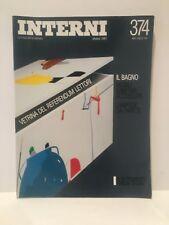 INTERNI Italian design magazine 1987 issue 374 modern architecture home English