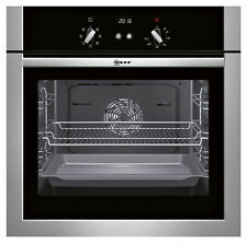 Neff B14M42N5GB Stainless Steel Electric Single Oven Fan Assisted
