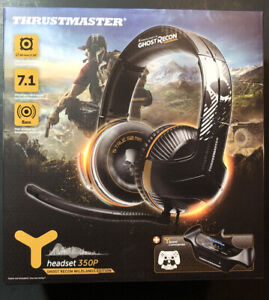 Thrustmaster Y-350P 7.1 Powered Headphone [ Ghost Recon Wildlands Edition ] NEW
