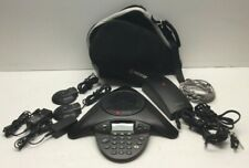 Polycom Soundstation 2 Avaya 2490 Conference Phone With Carrying Case And Hardware