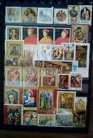 Religion Lot Briefmarken Sellos Stamps Timbres