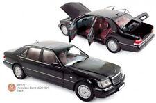 Mercedes Benz S600 black. 1:18 Norev