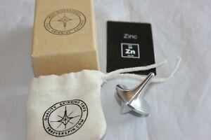 ForeverSpin - Rare Zinc Spinning Top - w/ Original Box, Card, Bag