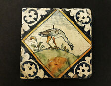 Wonderful Rare LONDON DELFT TILE, Goose 1618 - 1650