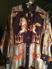 Rare 90's Gianni Versace  shirt, Men XS (Women 46)