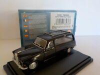Daimler DS420 Hearse - Black, Oxford Diecast 1/76 New Dublo, Railway Scale
