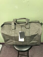 6017b8d267a3 Herschel Supply Co Novel Canteen Crosshatch Black Duffle Bag Pack Authentic  NEW