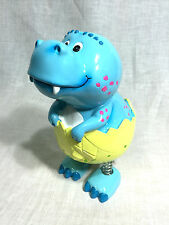 Dinosaur Wobbling Money Box - BLUE - D