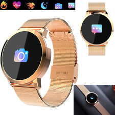 Women Smart Watch Bluetooth Phone Message Sync For Samsung S9 S8 S7 Huawei P10