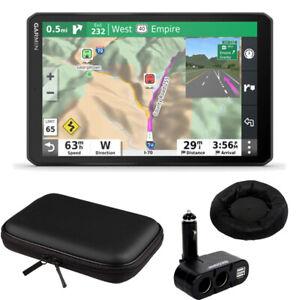 "Garmin 8"" RV 890 GPS Navigator (010-02425-00) + Hard Case & Dash-Mount Bundle"