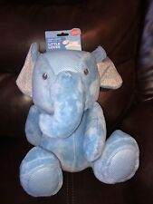 New Leaps & Bounds Little Loves Blue Elephant Pet Dog Toy