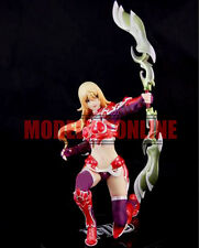 MUSE ELF WARRIOR MU ONLINE ANIME CUTE 1/8 UNPAINTED RESIN FIGURE MODEL KIT
