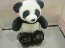 "Abc International Teddy Bear Plush 11"" BLACK AND WHITE PANDA Stuffed Animal"