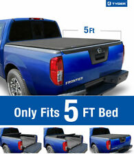 Nissan Frontier 05-20 09-14 Equator 5' Bed TYGER TG-BC1N9034 T1 Tonneau Cover