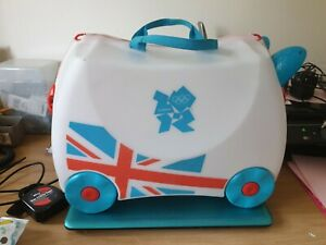 RARE LIMITED EDITION PARALYMPICS OLYMPICS CHILDS RIDE ON TRUNKI KEY AND STRAP