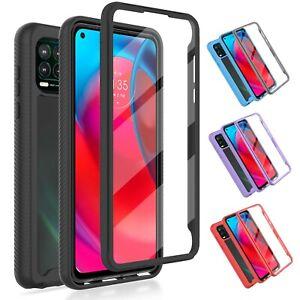 For Motorola Moto G Stylus 5G 2021 Case Hybrid Cover Built-in Screen Protector