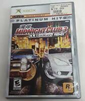 Midnight Club 3: DUB Edition Remix Platinum Hits Xbox Complete Game CIB Rockstar