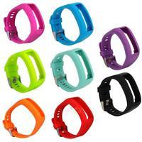 Silicone Rubber Watch Band Wrist Strap for Garmin Vivo Smart HR Activity Tracker