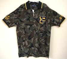 Polo Ralph Lauren Limited Edition Camo P Wing Varsity Military Polo Size XLT
