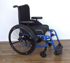 TiLite Aero-X ultralight folding wheelchair, Ti Shadow wheels, Natural Fit rims