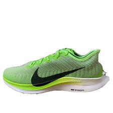 Men's Nike Zoom Pegasus Turbo 2 Electric Green/Black At2863-300 Size 12