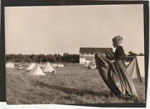 Camping Sahlenburg Cuxhaven 1960 Junge