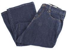 LEVI'S 512 Perfectly Slimming Boot Cut Dark Wash Denim Blue Jeans Women's 8 SH