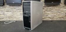 Genuine HP Workstation Intel QC 4GB 320GB Windows 10 Desktop Tower Computer PC