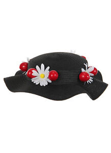 Mary Poppins Classic Black Costume Hat by elope